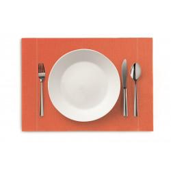 Sets de table pour restaurant en coton recyclé nettoyable à l'éponge