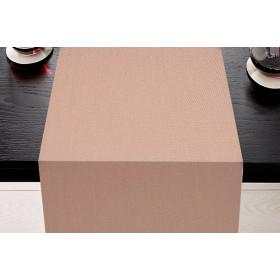 SATEN - Chemin de table 22 coloris en polycoton 250 gr/m²
