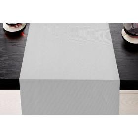 SANFOR - Chemin de table à effet satiné en 100% coton 260 gr/m²