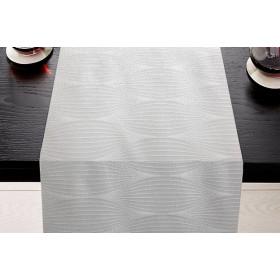 LIMOGES - Chemin de table à motifs géométriques en 100% coton 280 gr/m²