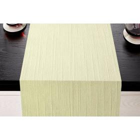 CHAMBERY - Chemin de table style naturel en polycoton 253 gr/m²
