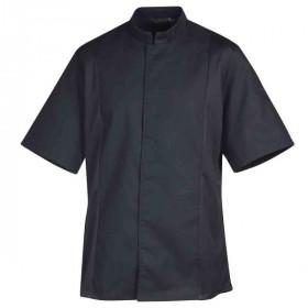 veste-siaka-noire-manches-courtes