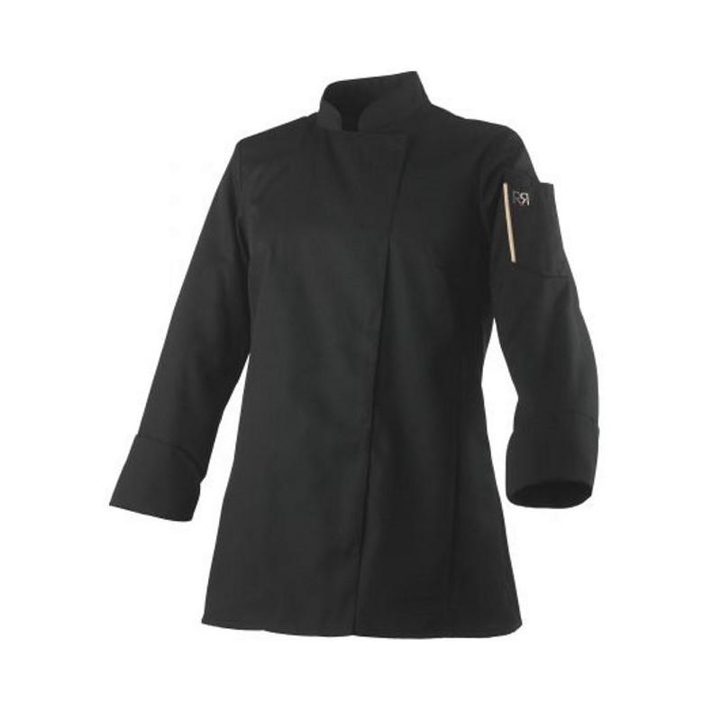 veste-cuisine-femme-unera-noire
