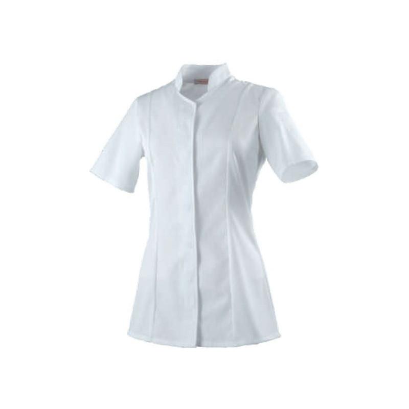 veste-cuisine-femme-abella-blanc-manches-courtes
