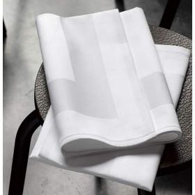 serviette-de-table-restaurant-coton-encadre-blanc