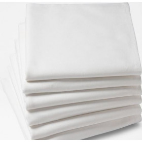 serviette-de-table-coton-blanc-pour-restaurant-chaillot
