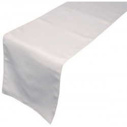 chemin-de-table-restaurant-polyester-blanc