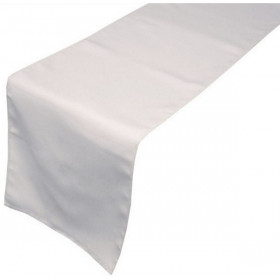 chemin-de-table-restaurant-polyester-blanc