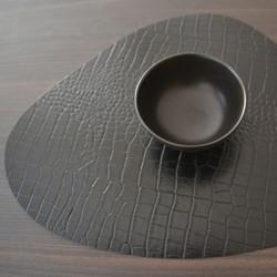 set-cuir-effet-croco-black