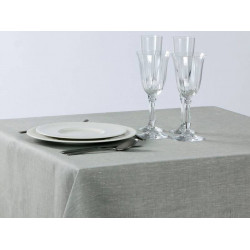 NATUREL - Serviettes de table pour restaurant en pur lin