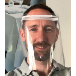 Restaurant et bar - Kit de protection COVID19 - 2 masques et 1 visière