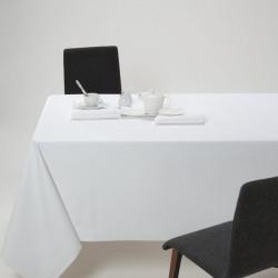 Nappe blanche 100% coton pour restaurant et traiteur - NappeRestaurant