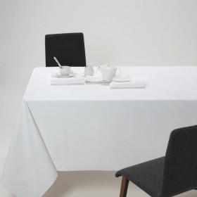 CHAILLOT - Nappe coton blanche pour restaurant et traiteur