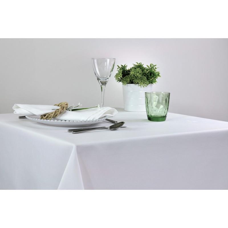 Nappe pour restaurant sur-mesure en polyester - Existe en noir