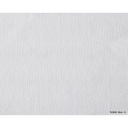 TUCSON - Chemin de table aspect naturel en polycoton et lin 240 gr/m²