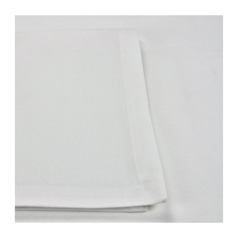 nappe-blanche-polyester-restauration-milano