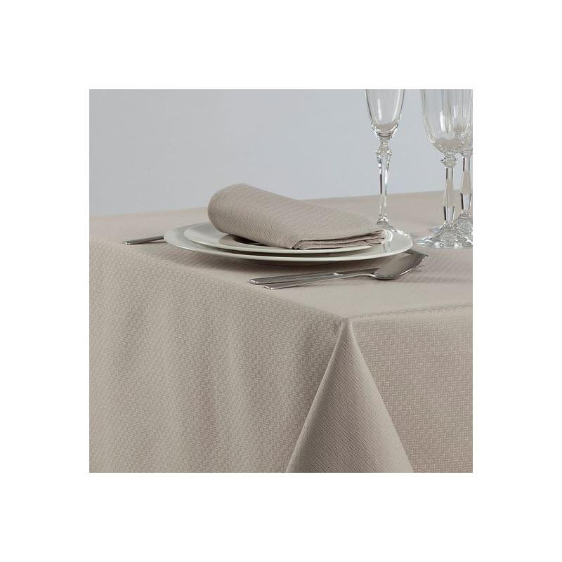 nappe-restaurant-beige-jacquard-tribeca
