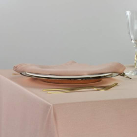 serviette-restaurant-couleur-rose-milano