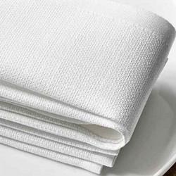 serviette-restaurant-haut-de-gamme-lin-blanc