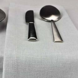serviette-restaurant-lin-gris