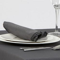 serviette-restaurant-sans-repassage-gris-anthracite