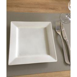 LEATHER - Set de Table Restaurant en cuir recyclé lisse