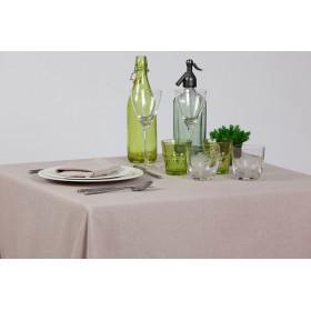 JARA - Nappe en lin et polyester unis - 260 gr/m²