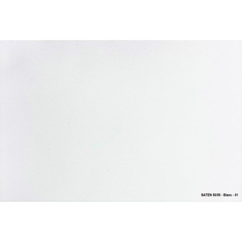 Echantillon tissu - SATIN 50/50 pour nappe professionnelle colorée