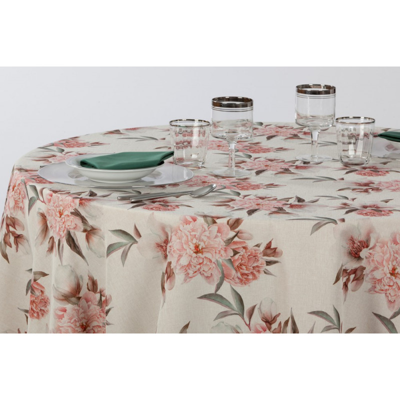 nappe-restaurant-imprime-vintage-fleurs