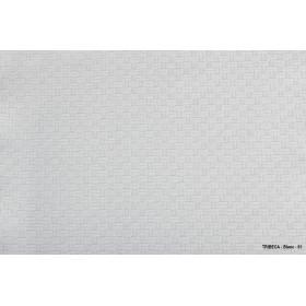 TRIBECA - Nappe à motifs jacquard rectangulaires en polycoton - 240 gr/m²