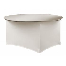 Housse de table - Premium Ronde - 180 gr/m²