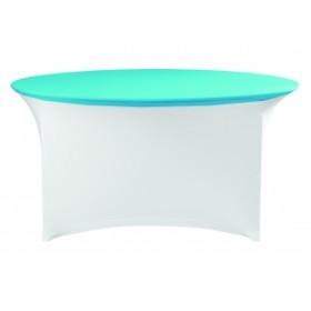 Housse plateau de table ronde - Premium/Symposium - 180 gr/m²