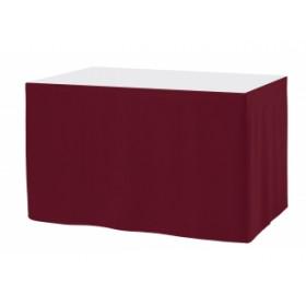 Juponnage droit pour table rectangulaire - Sans plis - 170 gr/m²